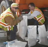 ICWC sandbagging efforts